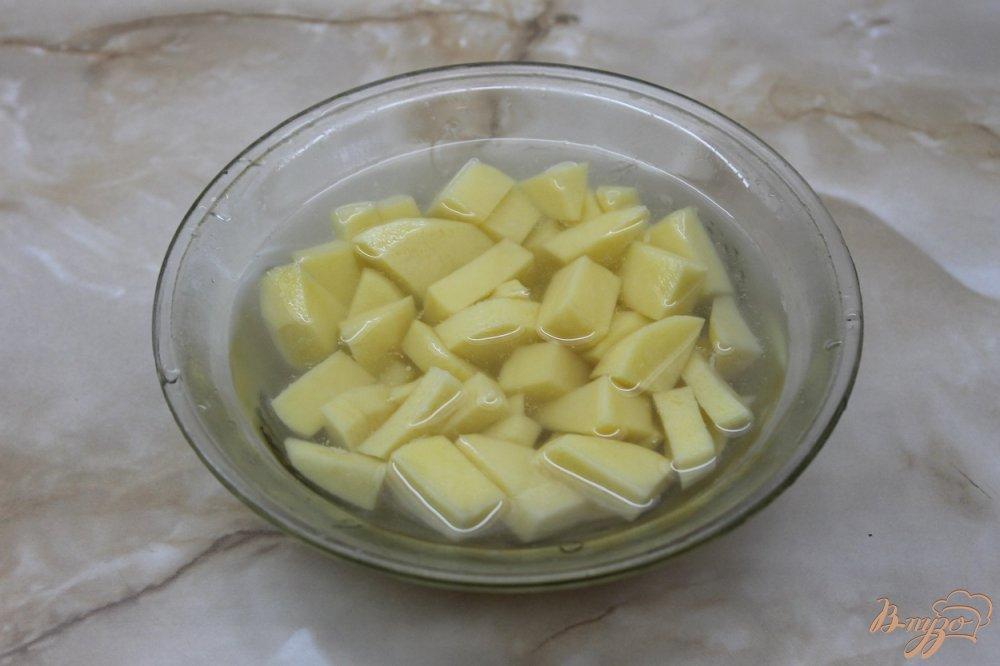Фото приготовление рецепта: Борщ украинский с ребрами шаг №2