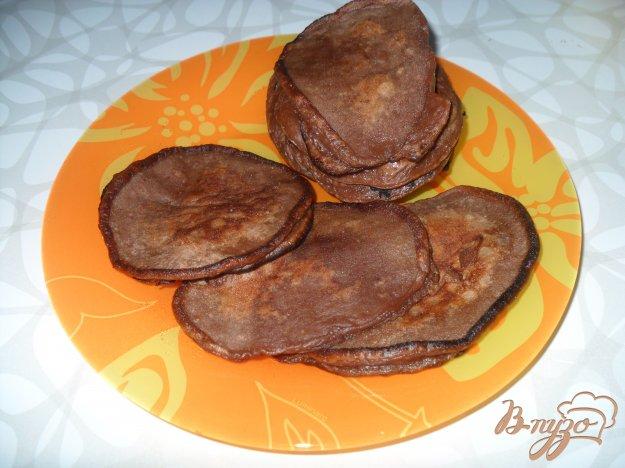 фото рецепта: Шоколадные оладьи