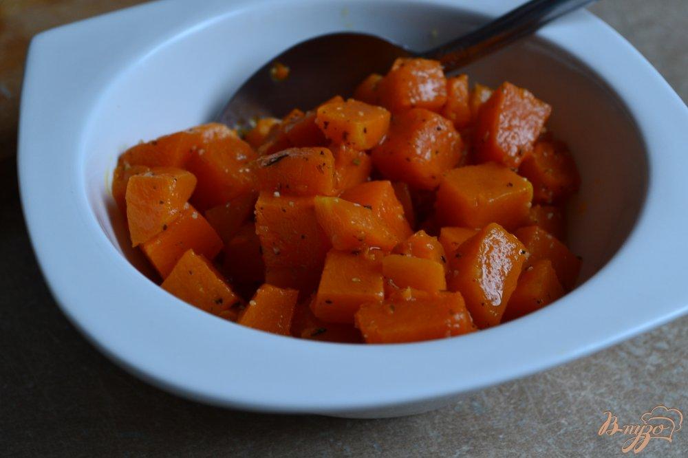 Фото приготовление рецепта: Свекольный салат с кусочками тыквы шаг №1