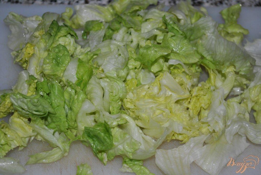 Фото приготовление рецепта: Салат-микс с кукурузой и пророщенной чечевицей шаг №1