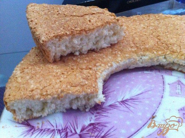 Фото приготовление рецепта: Ангельский бисквит шаг №6