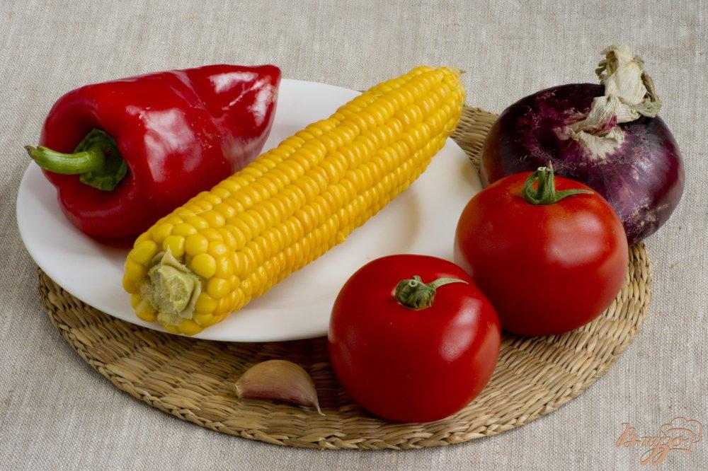 Фото приготовление рецепта: Летний салат шаг №1