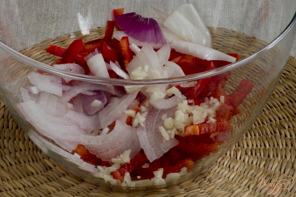 Фото приготовление рецепта: Летний салат шаг №3