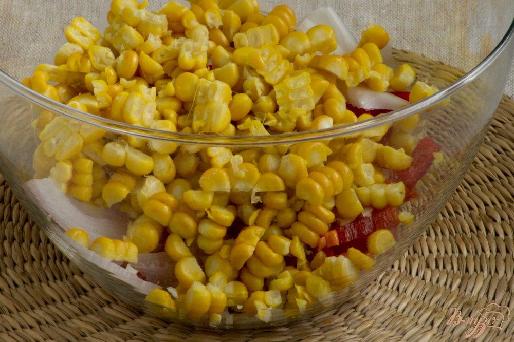 Фото приготовление рецепта: Летний салат шаг №4