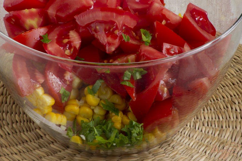 Фото приготовление рецепта: Летний салат шаг №5