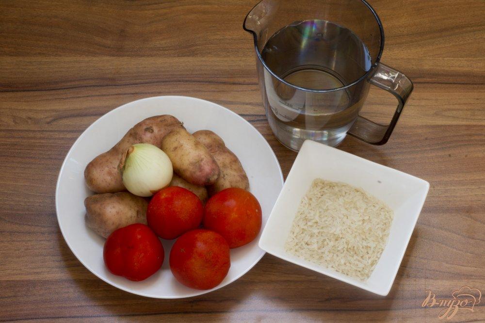 Фото приготовление рецепта: Монастырский суп-пюре из томатов шаг №1