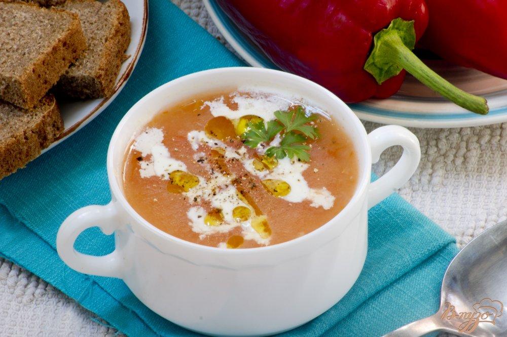 Фото приготовление рецепта: Монастырский суп-пюре из томатов шаг №6