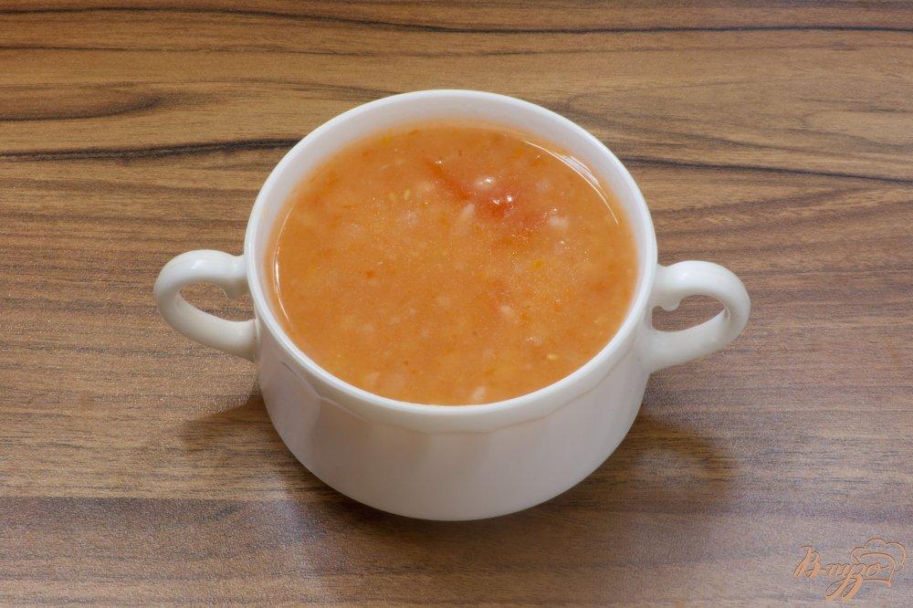Фото приготовление рецепта: Монастырский суп-пюре из томатов шаг №5
