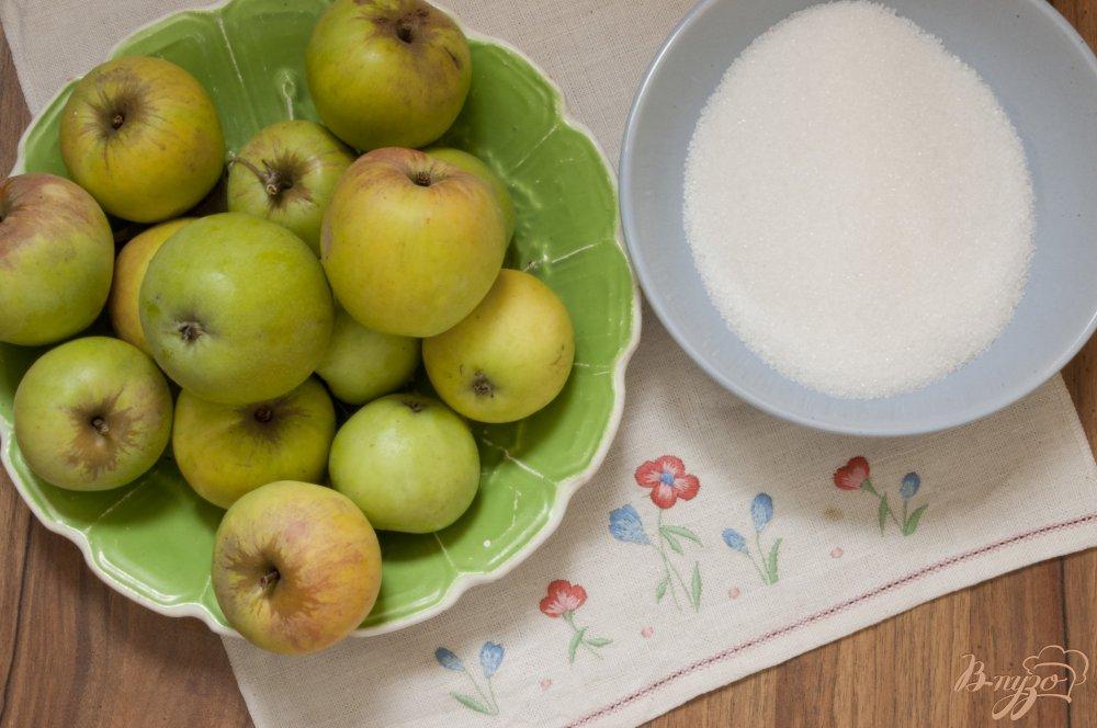 Фото приготовление рецепта: Консервированная яблочная начинка для пирогов шаг №1