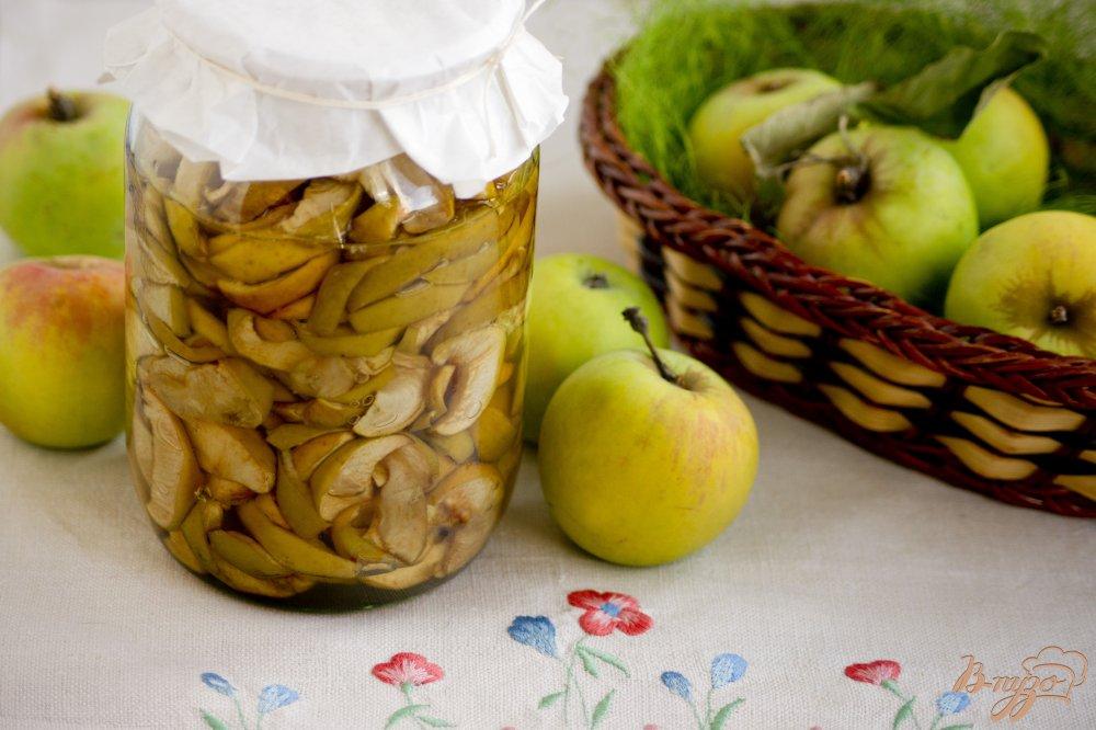 Фото приготовление рецепта: Консервированная яблочная начинка для пирогов шаг №5