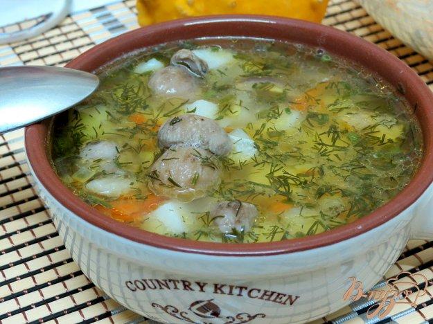 фото рецепта: Суп с белыми грибами