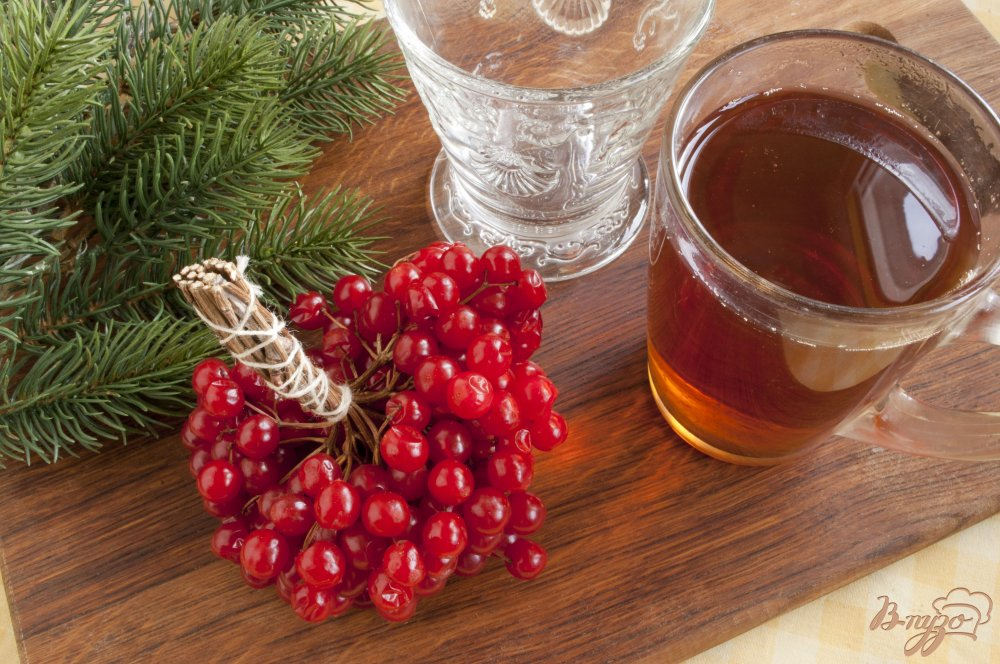 Фото приготовление рецепта: Чай с калиной шаг №1