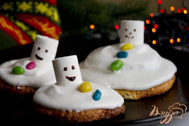 фото рецепта: Тающие снеговички
