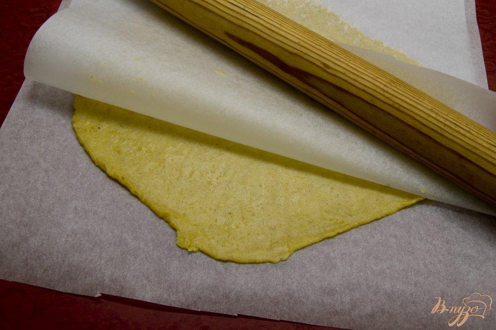 Фото приготовление рецепта: Пряничный домик шаг №6
