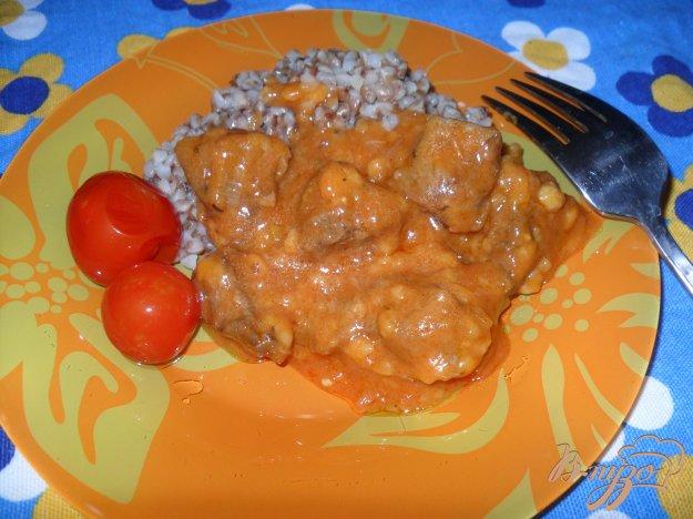 Подливка с мясом рецепт пошагово с