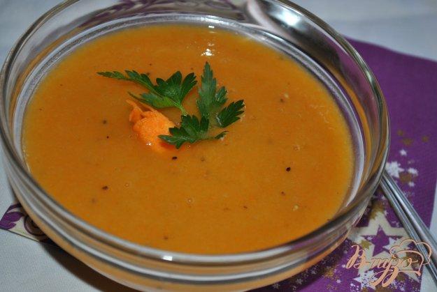 фото рецепта: Сладкий крем-суп из тыквы