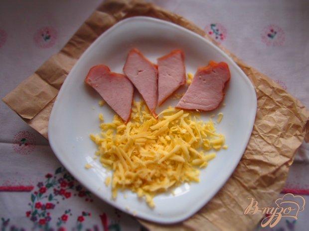 Омлет с балыком и сыром