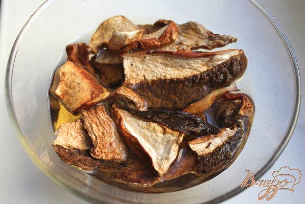 Блины с грибами и сыром