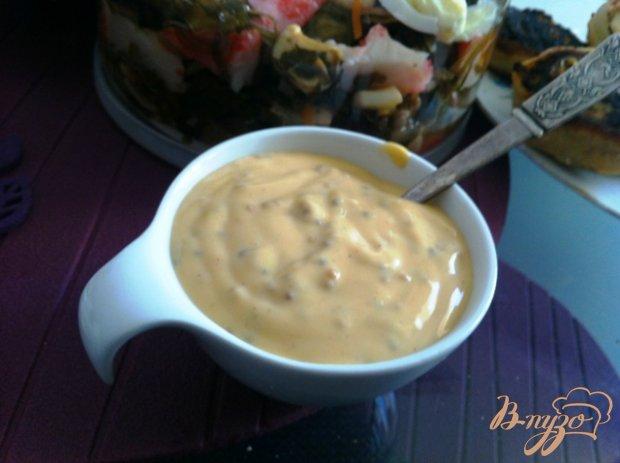 Пряный горчичный соус