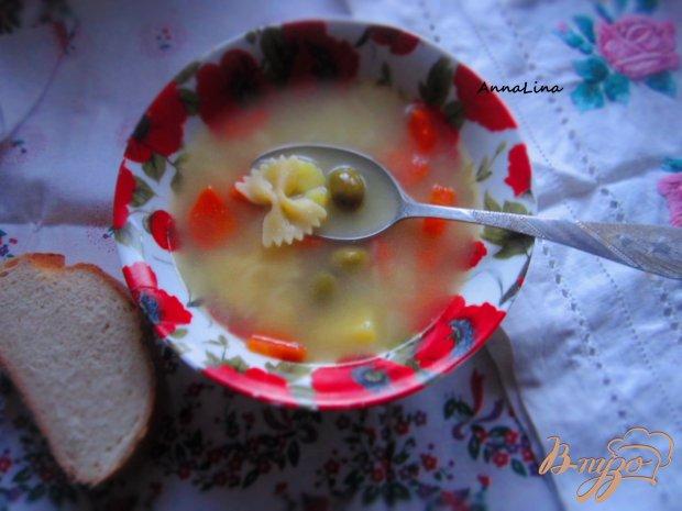 Суп с оливками