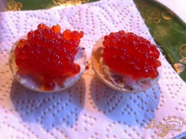 Закуска из красной икры