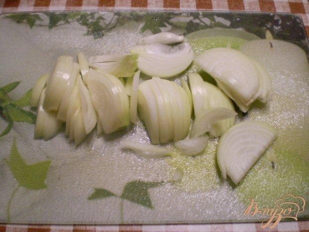 Картофель с чесноком и болгарским перцем