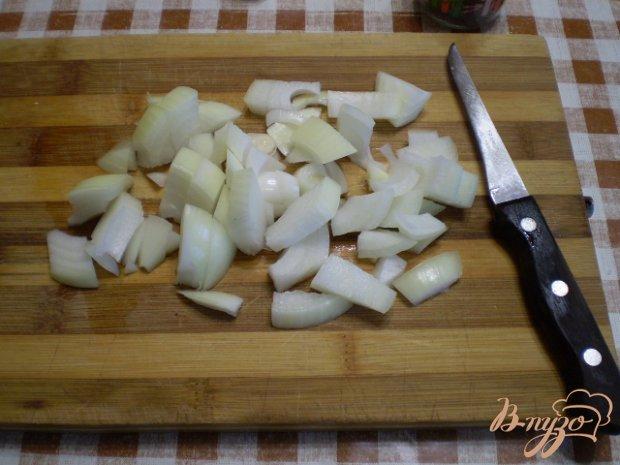 Картофель с грибами и стручковой фасолью