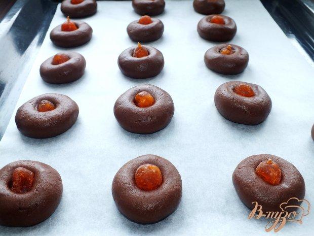 Шоколадное печенье с кумкватами