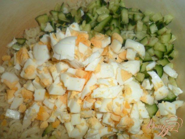 Как приготовить салат с мивины