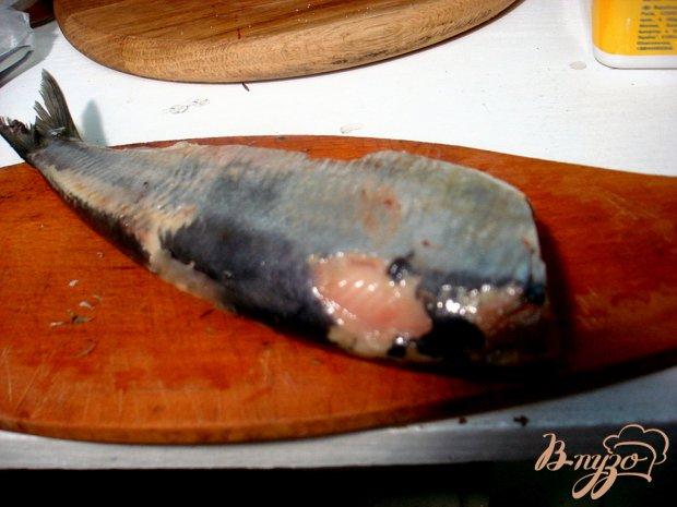 Сельдь в сметанно - горчичном соусе