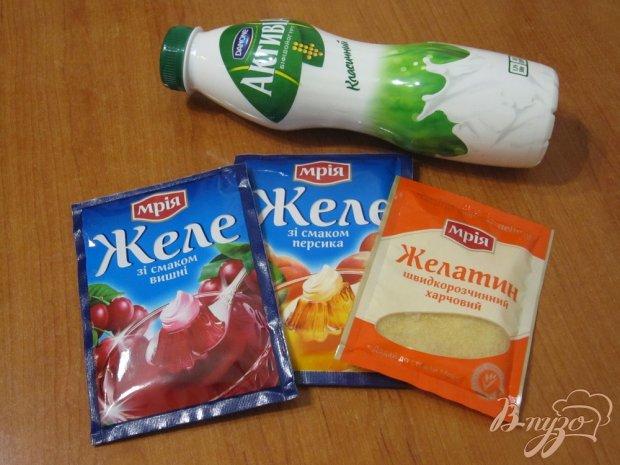Фруктово-йогуртовое желе