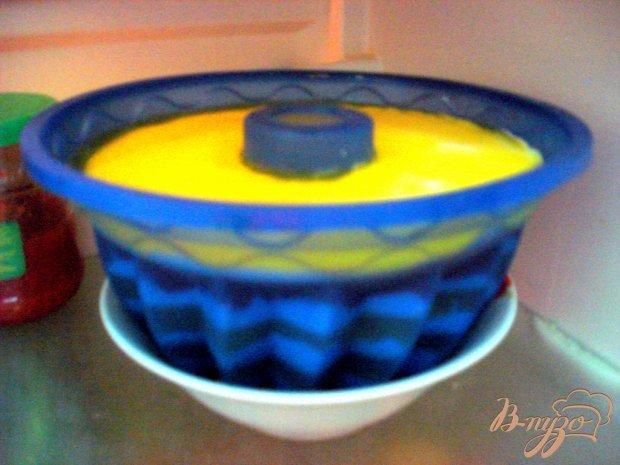 Творожно - желейный десерт