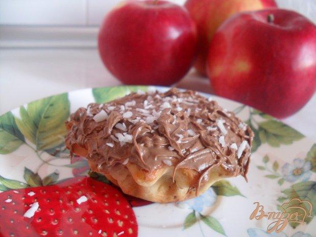 Сметанные кексы с вишнями