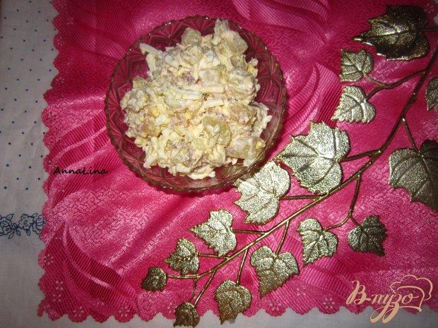 Салат с плавленым сырком