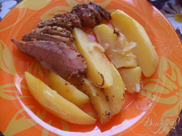 Свинина с картофелем в рукаве