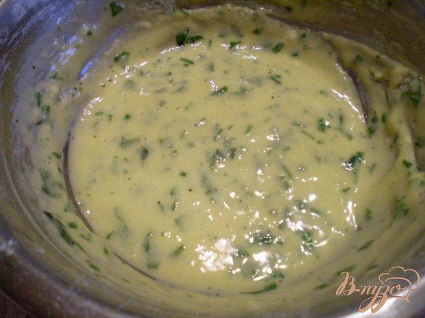 Суп с грибами, клецками и зеленью