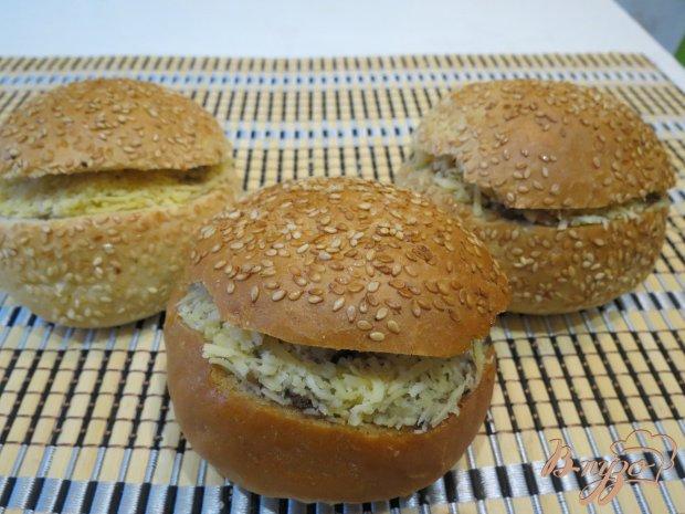 Фаршированные булочки для завтрака