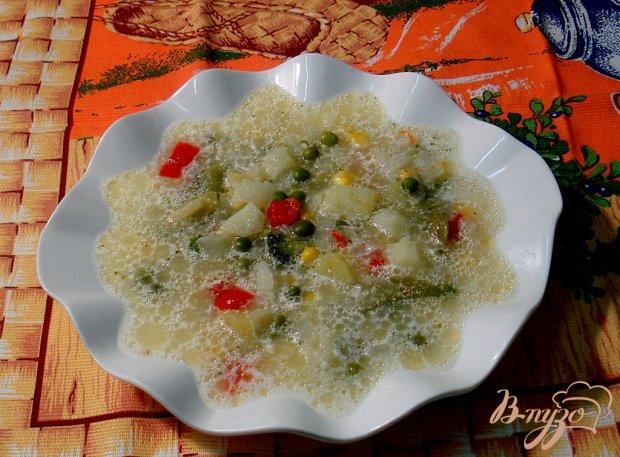 Овощной суп с прованским набором