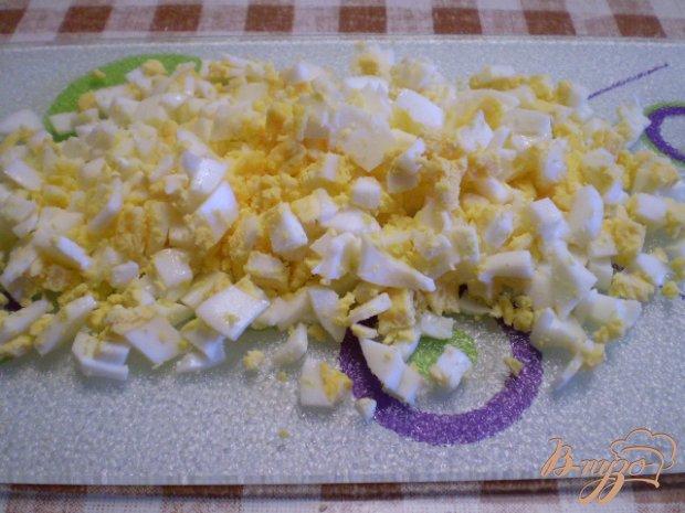 Суп кукурузный с яйцом и зеленью