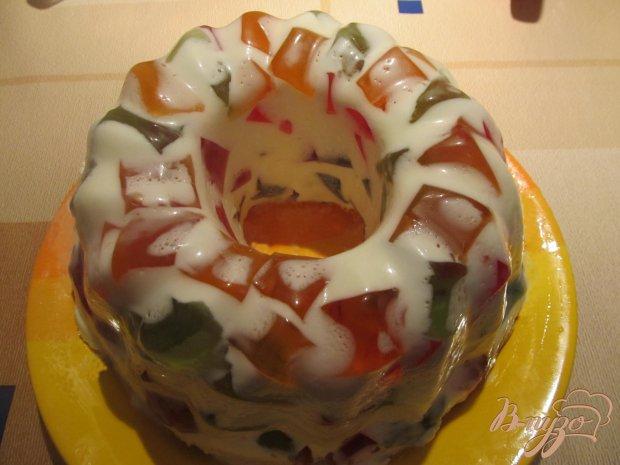 """Торт """"Самоцветы"""" с печеньем"""