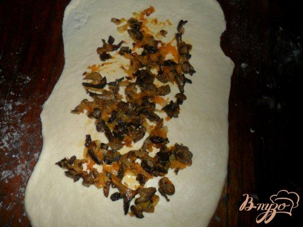 Рулет с грибами