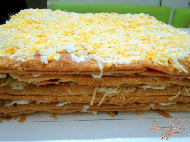 Торт рыбный закусочный
