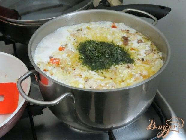 Суп из пекинской капусты на бульоне