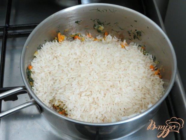 Рисовый гарнир с овощами