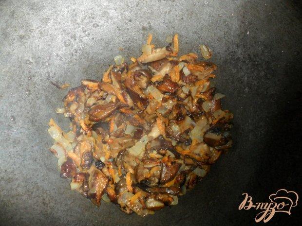 Жаркое постное с грибами