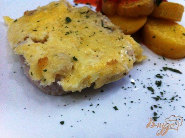 Филе хека запеченное с сыром