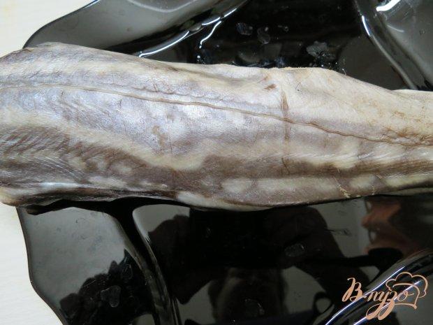 Акула - призрак под овощным маринадом