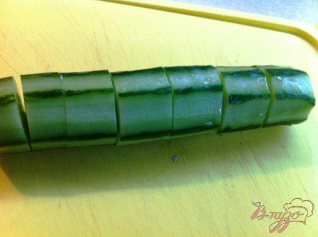 Огурцы фаршированные тунцом