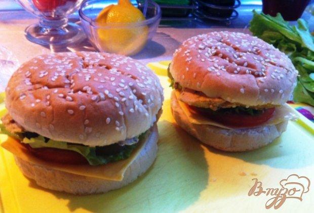 Чизбургер Биг чикен