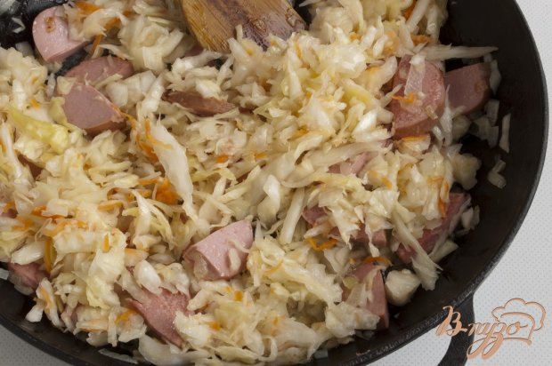 Рис с квашеной капустой